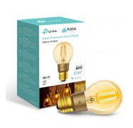 Tp-Link Kl60 Kasa Filament Smart Bulb Warm Amber Edison Screw Dimmable No Hub Required Voice Control 2000K 5Kwh/1000H 2.4 Ghz 2 Year Warranty Kl60