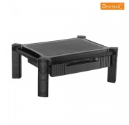 """Brateck Height-adjustable Smart Stand Xl With Drawer For Most 13""""""""-32"""""""" Monitors And Other Machines"""