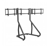 Brateck Triple Monitor Stand-Perfect Viewing In The Game Lrs01-Sr02