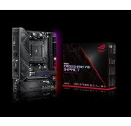 Asus Rog Crosshair Viii Impact Amd Am4 X570 Mini-Dtx Enthusiast Gaming Motherboard With So-Dimm.2 Card (Dual M.2) Wi-Fi 6 (802.11 Ax) Rog Crosshair Viii Impact
