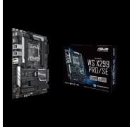 Asus X299 Pro/ Se Ws Atx Mb 8xddr4 5xpcie 1xm.2 6xsata Raid 5xusb3.0 1xusb Typec 2 X Intel Lan