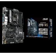 Asus Z270-ws Mb 4xddr4 5xpcie 1xm.2 6xsata 5xusb3.0 1xusb Typec 2 X Lan (rj45) Port(s) 1xdp 1xhdmi