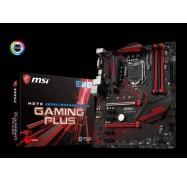 MSI H370 GAMING PLUS ATX GAMING Motherboard - S1151 8Gen 4xDDR4 6xPCI-E 1xM.2 4xUSB3.1 2xUSB2.0 1xDVI
