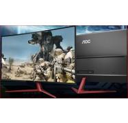 "Aoc 38.5"" Va Ips-Type 4Ms 144Hz Full Hd Freesync Curved Esport Gaming Monitor - Dp1.2/ 2Xhdmi1.4/"
