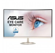 Asus Vz27vq Eye Care Curved Monitor - 27 Inch Full Hd (1920x1080) Ultra-slim Frameless Flicker