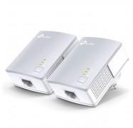 Tp-link Tl-pa4010kit Av600 Powerline Ethernet Adapter Starter Kit 600mbps Homeplug Av 1xlan Port