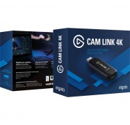 Corsair Elgato Cam Link 4K 10GAM9901, Broadcast live and record in 1080p60 or 4K at 30 fps, USB3.0