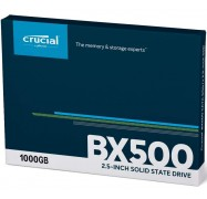 """Crucial 1TB BX500 2.5"""" SATA3 6Gb/s SSD 3D NAND 540/500MB/s 7mm Acronis True Image Software CT1000BX500SSD1"""