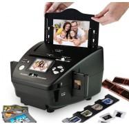 AVLabs 4 in 1 Photo, Slides, Negatives, Name Card Scanner DC-M122