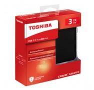 Toshiba Canvio Advance V9 Usb 3.0 Portable External Hard Drive 3tb (black) Hdtc930ak3ca