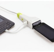iDapt i1 Eco Friendly Universal Charger With Mini USB, Micro USB And iPod Tips