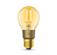 Tp-Link Smart Wi-Fi Led Filament Bulb With Dimmable Light Warm Amber 2700K E27 2Yr Kl60