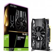Evga Geforce Gtx1650 Black Xc Gaming Graphics Card 4Gb Gddr5 Pcie - 04G-P4-1151-KR
