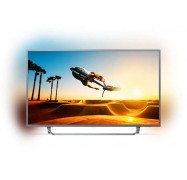 """Philips 7300 Series 139 Cm (55"""" ) 4K Ultra Slim Tv Powered By Android Tv With Ambilight 3-Sided"""