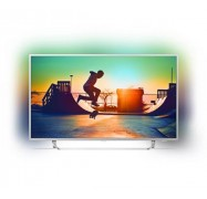 """Philips 7300 Series 65"""" Android 4K Ultra Slim Tv W/ Silver Bezel Ambilight 3-Sided Quad Core Hdr Dvb-T/T2 3 Year Onsite Warranty. 65Put7383/79"""