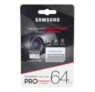 Samsung Pro Endurance 64GB Micro SDXC Card with Adapter 100MB/s U1 MB-MJ64GA