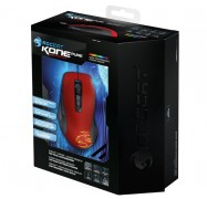 Roccat Kone Pure Color Edition Hellfire Red Core Performance Gaming Mouse