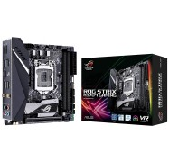Asus Intel H370 Mini-itx Gaming Motherboard With Aura Sync Rgb Led Lighting Intel 802.11ac Wi-fi