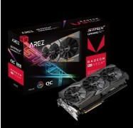 ASUS ROG Strix Radeon RX VEGA64 gaming graphics card with ASUS Aura Sync 90YV0B00-M0NA00