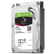 Seagate IronWolf 4TB 3.5 Inch NAS HDD SATA 6Gb/s 64MB Cache ST4000VN008, 24x7 Always On