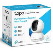 TP-Link Tapo C200 Pan/ Tilt Home Security Wi-Fi Camera, 1080P, Motion Detection and Notifications, Night Vision, Alarm