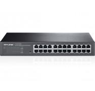 Tp-link 24-port Gigabit Easy Smart Switch 24 10/100/1000mbps Rj45 Ports Mtu/port/tag-based Vlan