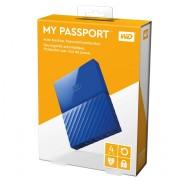 Western Digital 4TB My Passport Portable Hard Drive-Blue WDBYFT0040BBL-WESN