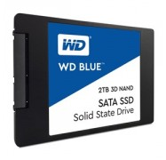 "Western Digital Blue 2TB 2.5"" 3D NAND SSD 7MM 545/ 525 R/ W SATA 6GB. 5 Years Warranty WDS200T2B0A"