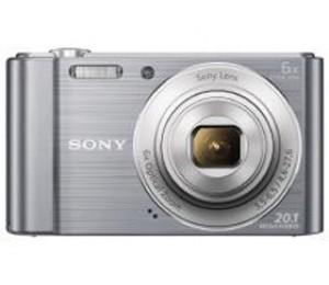 Sony Cybershot W810 20.1mp 6x Silver Dscw810s