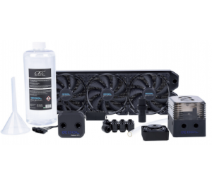 Alphacool Eissturm Gaming Copper 30 3X120Mm - Complete Kit 1014159