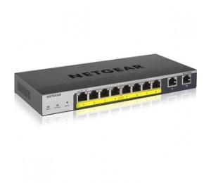 Netgear 8-Port Poe+ Gigabit Smp Switch Gs110Tpp-100Ajs