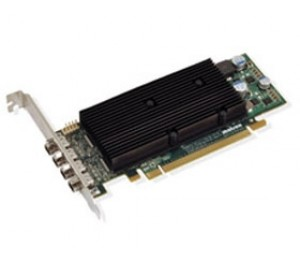 Matrox PCIE M9148 1GB LP Heatsink DP M9148-E1024LAF