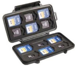 Pelican 0915 Memory Case Sd/ Sd Mini 0910-015-110