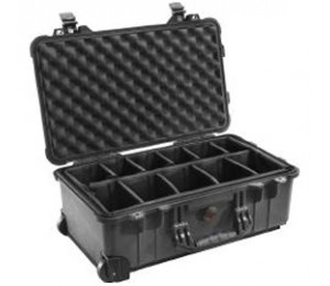 Pelican 1510 Case with Dividers Blk 1510-004-110