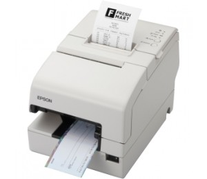 EPSON TM-H6000IV-912 Hybrid Printer Built-in USB Serial Cool White With MICR With Endorsement Printing
