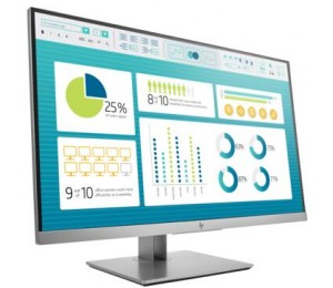 "HP E273 27"" IPS 16:9 1920x1080 VGA+DP+HDMI+USB Tilt Swivel Pivot Height 3 Yrs 1FH50AA"