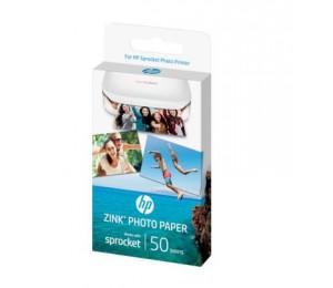 HP ZINK 2X3 PHOTO PAPER (50 SHEETS) 1RF42A