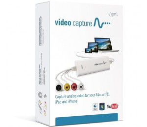 Elgato Video Capture From Vcr Dvr Cam Or Analogue Vid To Mac As Itunes Ready File Sync Recaptured Video