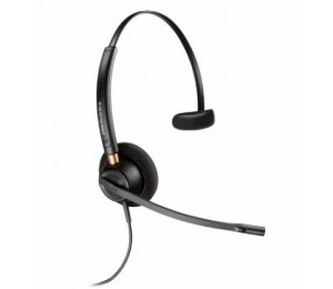 PLANTRONICS ENCOREPRO HW510D OVER-THE-HEAD MONAURAL DIGITAL SERIES CORDED HEADSET TOP 203191-01