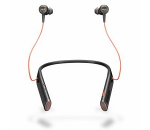 PLANTRONICS VOYAGER 6200 UC BLUETOOTH ANC NECKBAND HEADSET W/ EARBUDS - SAND 208749-01