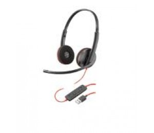 PLANTRONICS BLACKWIRE C3220 STEREO UC USB-A HEADSET 209745-101