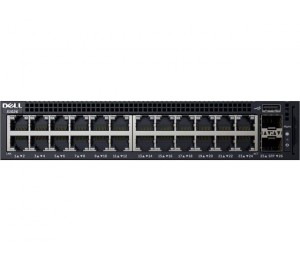 Dell X1026 Smart Web Managed Switch 24x 1gbe And 2x 1gbe Sfp Ports/x1026x1026p Limited Lifetime