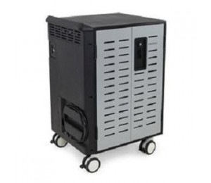 ERGOTRON ZIP40 CHARGING AND MANAGEMENT CART, FOR TRANSPORTING, SECURING, PROTECTING AND CHARGING ALL YOUR MOBILE COMPUTING DEVICES: USE IT WIT DM40-1008-4