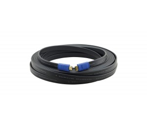 Kramer FLAT HDMI 1.4 WITH ETHERNET MALE TO MALE CABLE 15FT  97-01014015