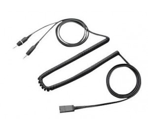 PLANTRONICS CABLE, QD TO DUAL, 3.5MM PLUGS 28959-01
