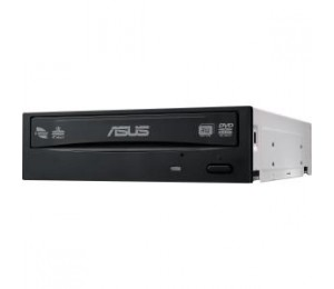 Asus 10PK - DRW-24D5MT BLACK INTERNAL OEM BULK PACK SATA DVD BURNER. 24X DVD WRITING SPEED DUAL