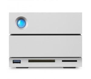 LACIE 2BIG DOCK 8TB THUNDERBOLT3 USB3.0 USB-C DISPLAY PORT CARD READER 5YR STGB8000400