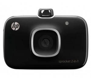HP SPROCKET 2-IN-1 PRINTER BLACK 2FB97A