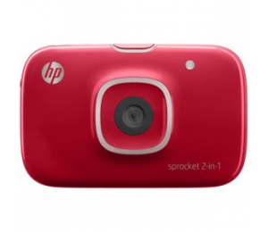Hp Sprocket 2-in-1 Printer Red 2fb98a