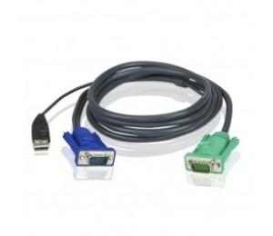 Aten (2l-5201u) Usb Kvm Cable, Length: 1.2m 2l-5201u